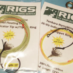 RIGS Updates their Nymph & Floating Tenkara Lines for 2014
