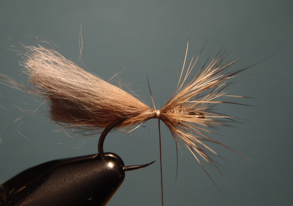 Fur-hackled Tenkara Fly
