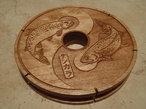 Wooden Tenkara Line Spool