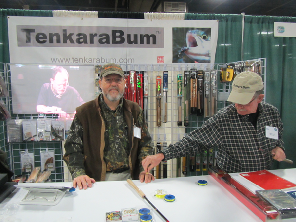 Tenkara Bum Booth - Photo courtesy of Gary Borger
