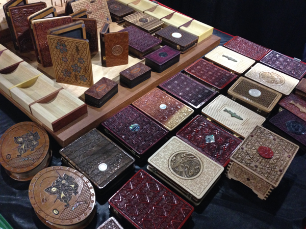 Wooden Fly Boxes