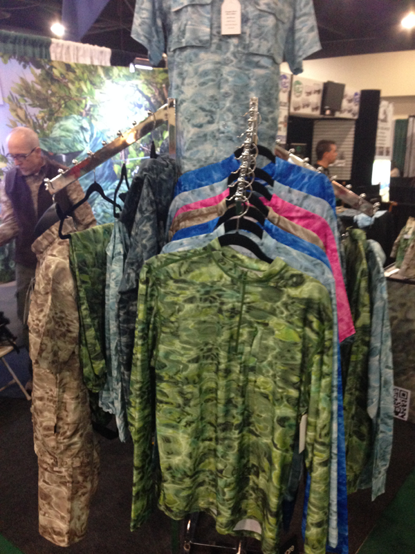 Camo clothing for fly fishing