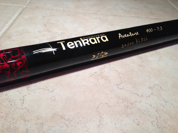 Carbon Tenkara Rod Tube