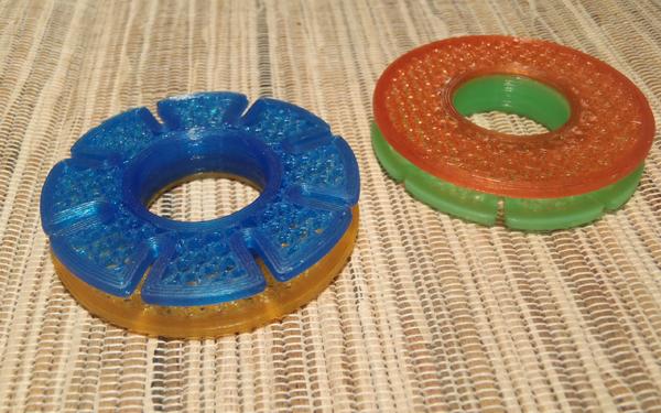 3D Printed Tenkara Line Spools