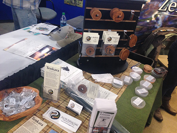 Zen Tenkara gear & swag display