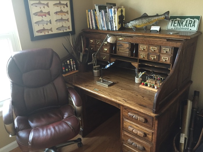 Fly Tying Desk