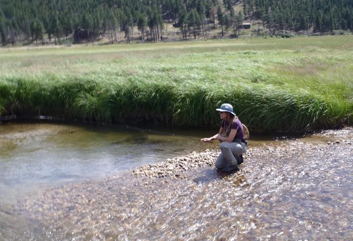 Karin Miller Tenkara Fishing