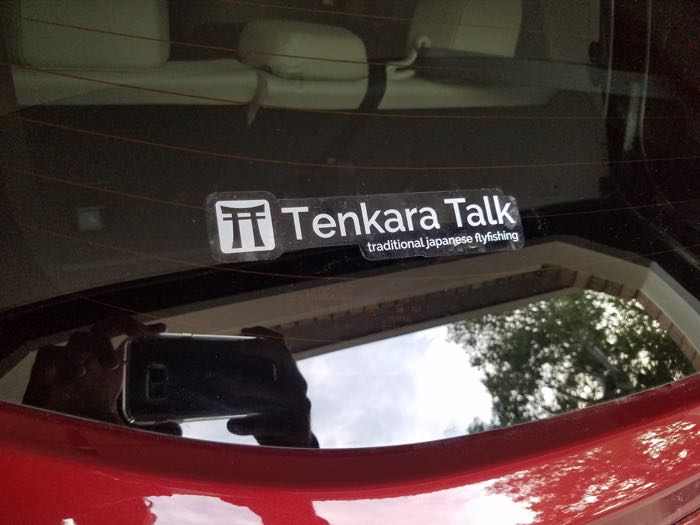 Tenkara Talk Sticker 3