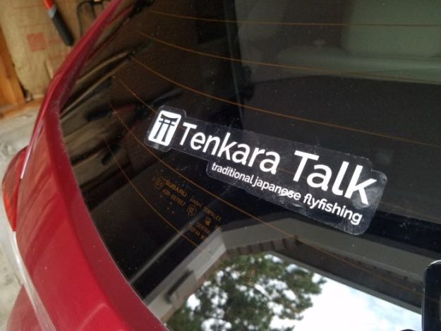 Tenkara Talk Sticker