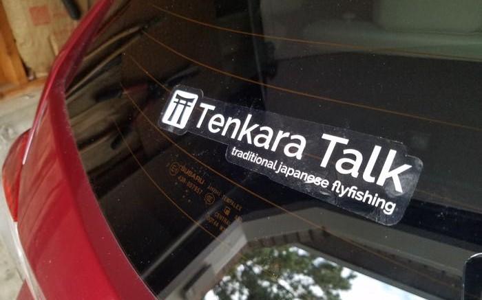 Tenkara Talk Sticker