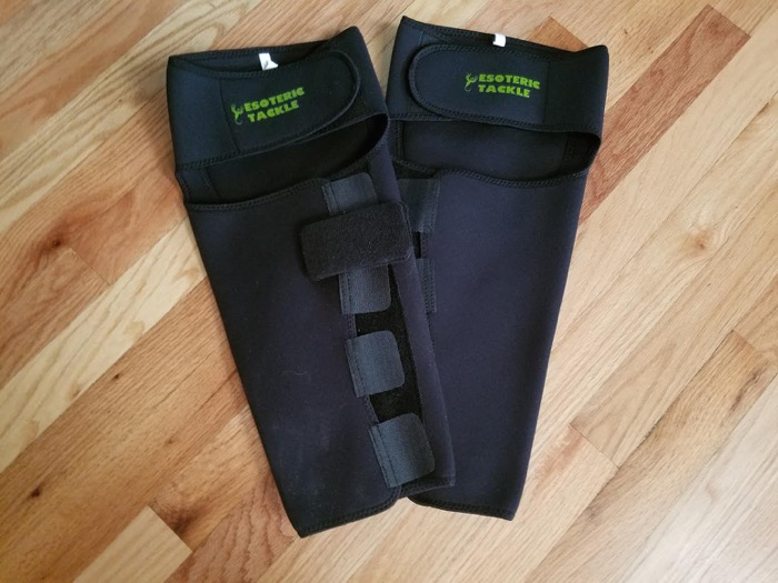 Tenkara shin and knee guards