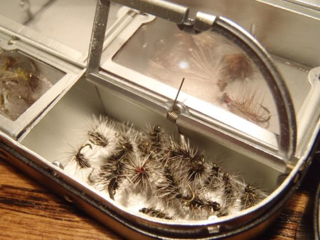 Winter tenkara flies