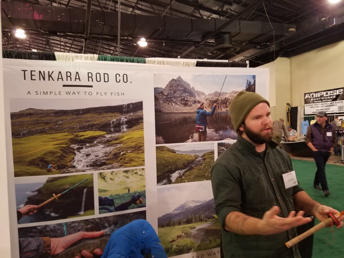 Chris Miller from Tenkara Rod Co.