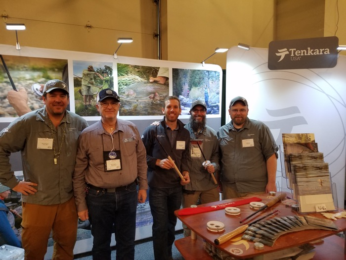 Tenkara USA at the flyfishing show 2017