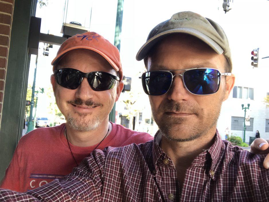 Jason Klass and Karel Lansky