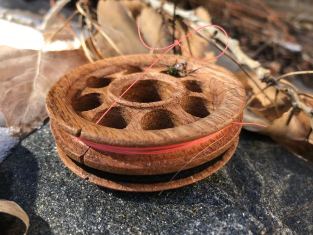 Tenkara Path Wooden Line Spool