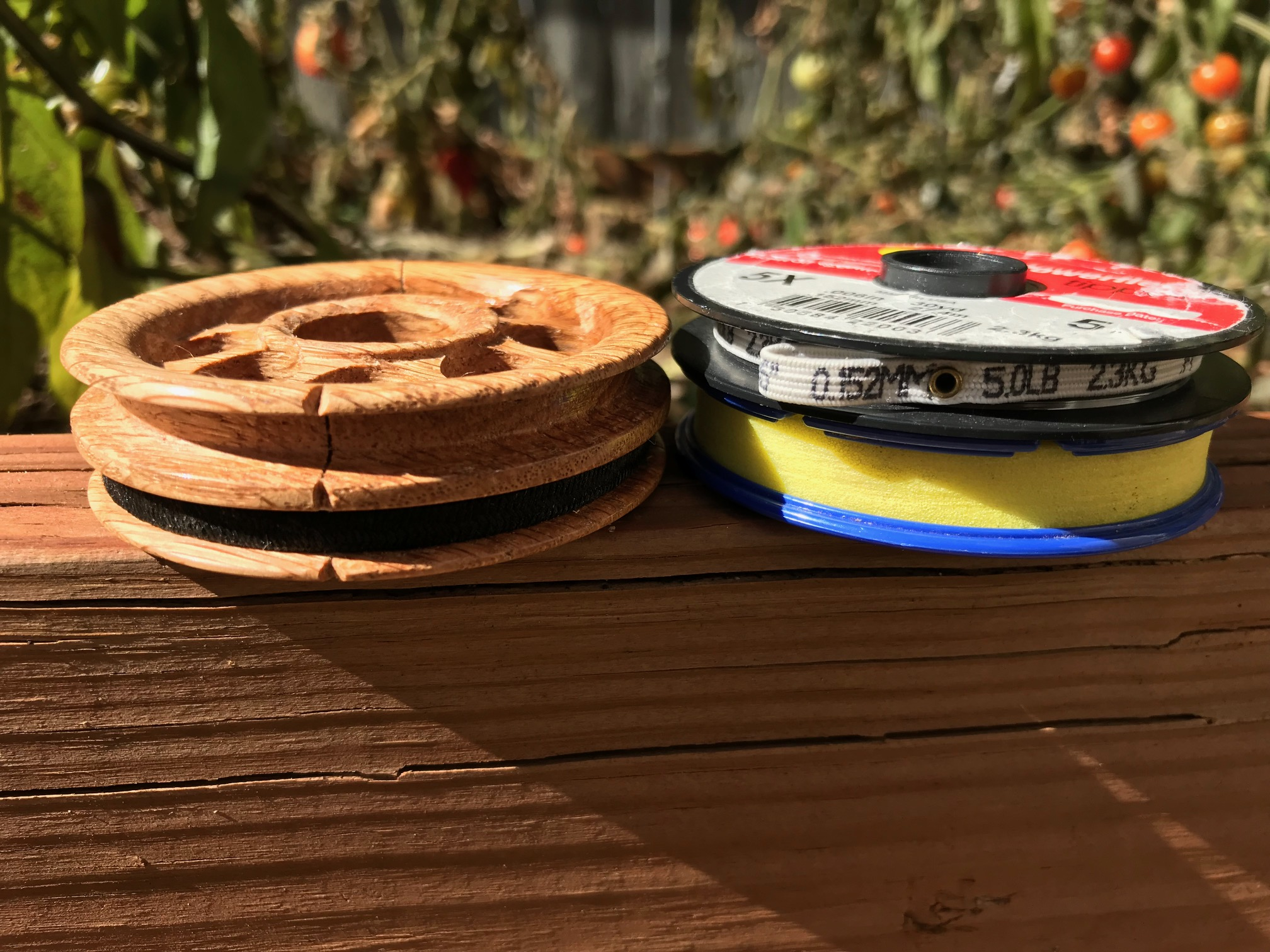 Tenkara Path Wooden Line Spool