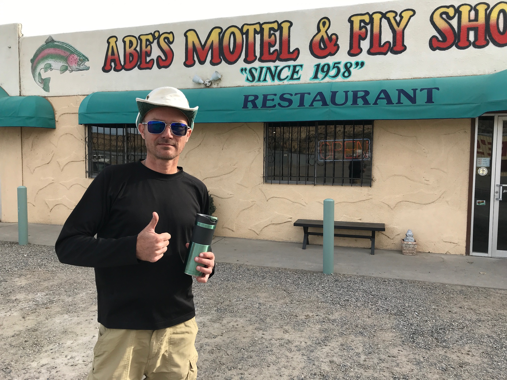 Jason Klass at Abe's Fly Shop