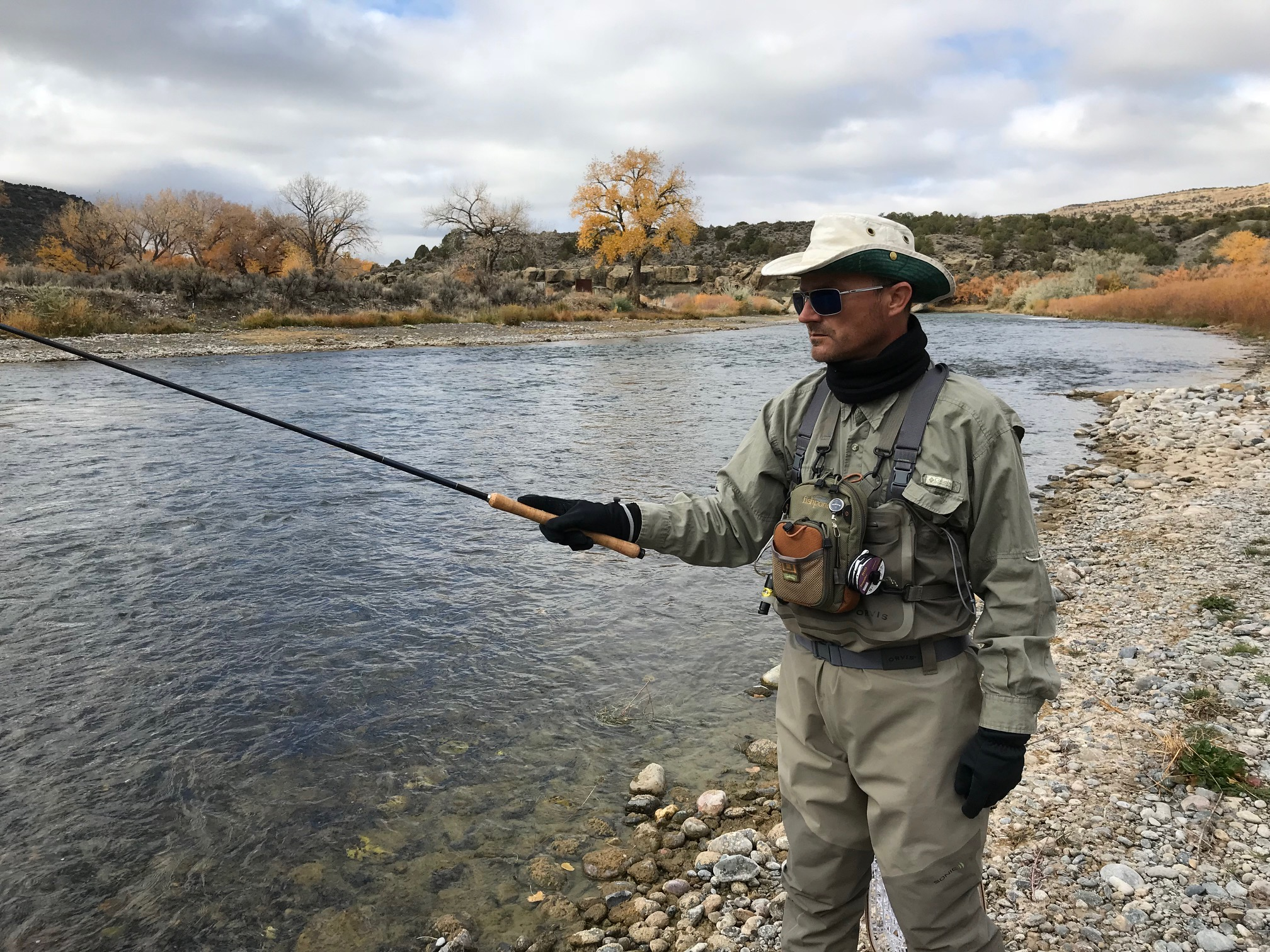 Jason Klass Tenkara Fishing on the San Juan