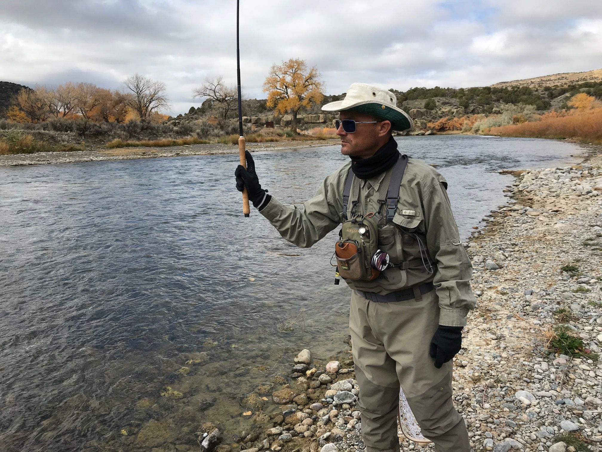 Jason Klass Tenkara Fishing on the San Juan