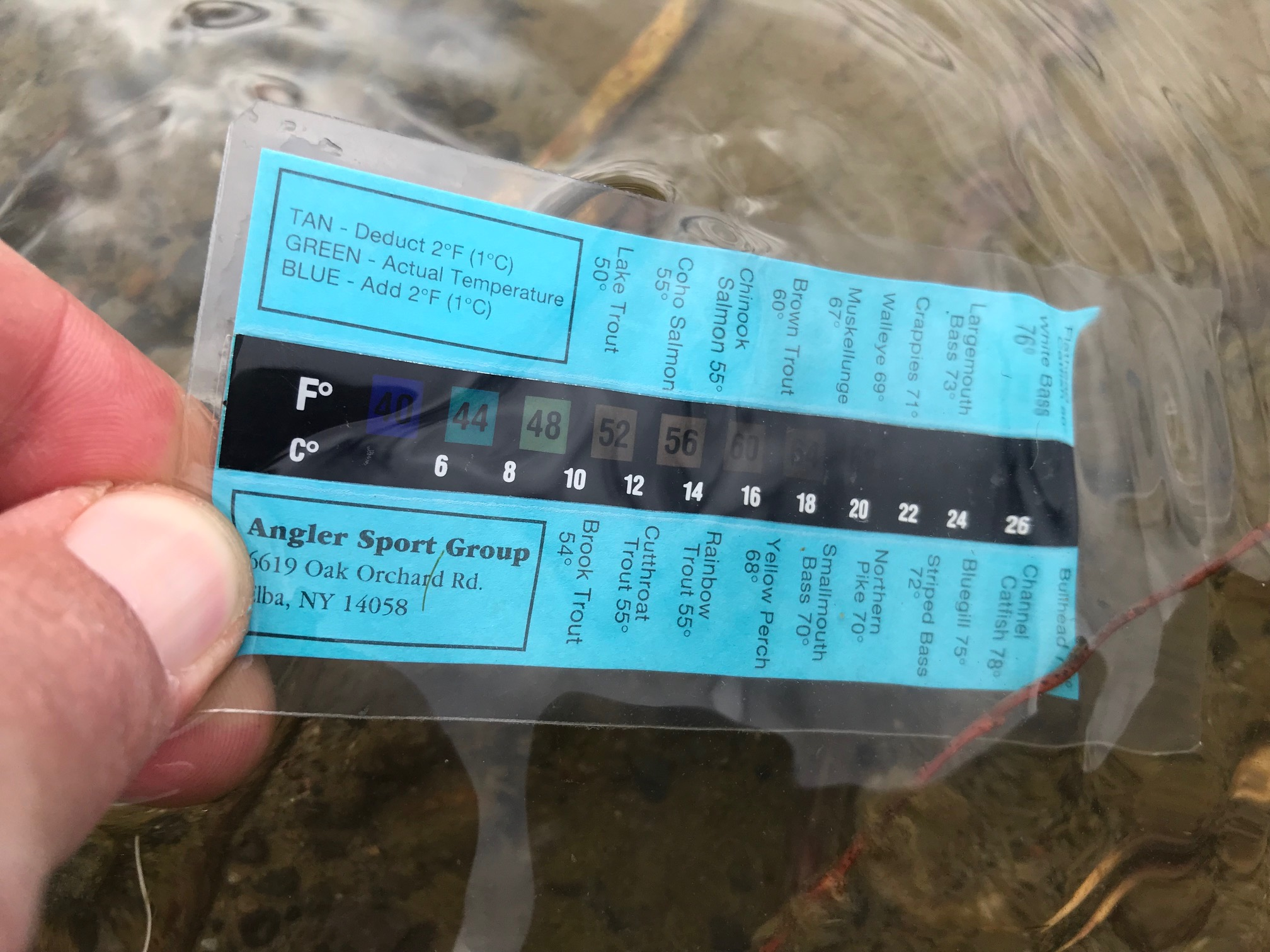 San Juan River Water Temp