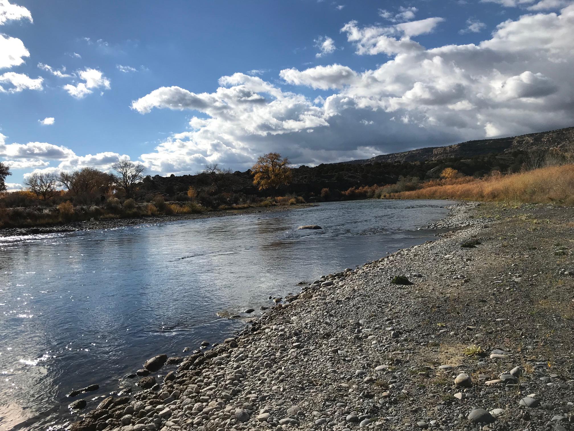San Juan River Crusher Hole