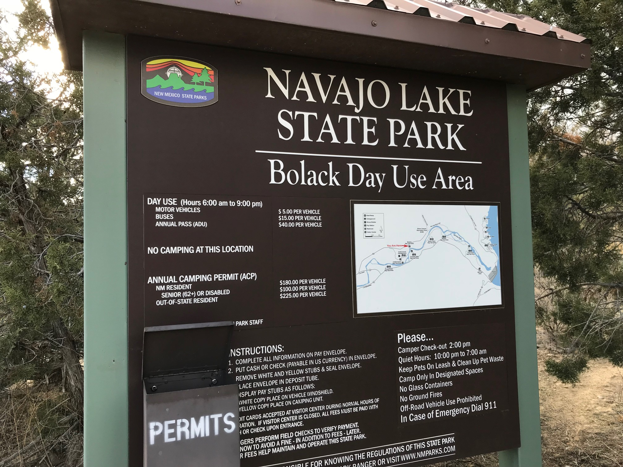 San Juan River Bolack Day Use Area