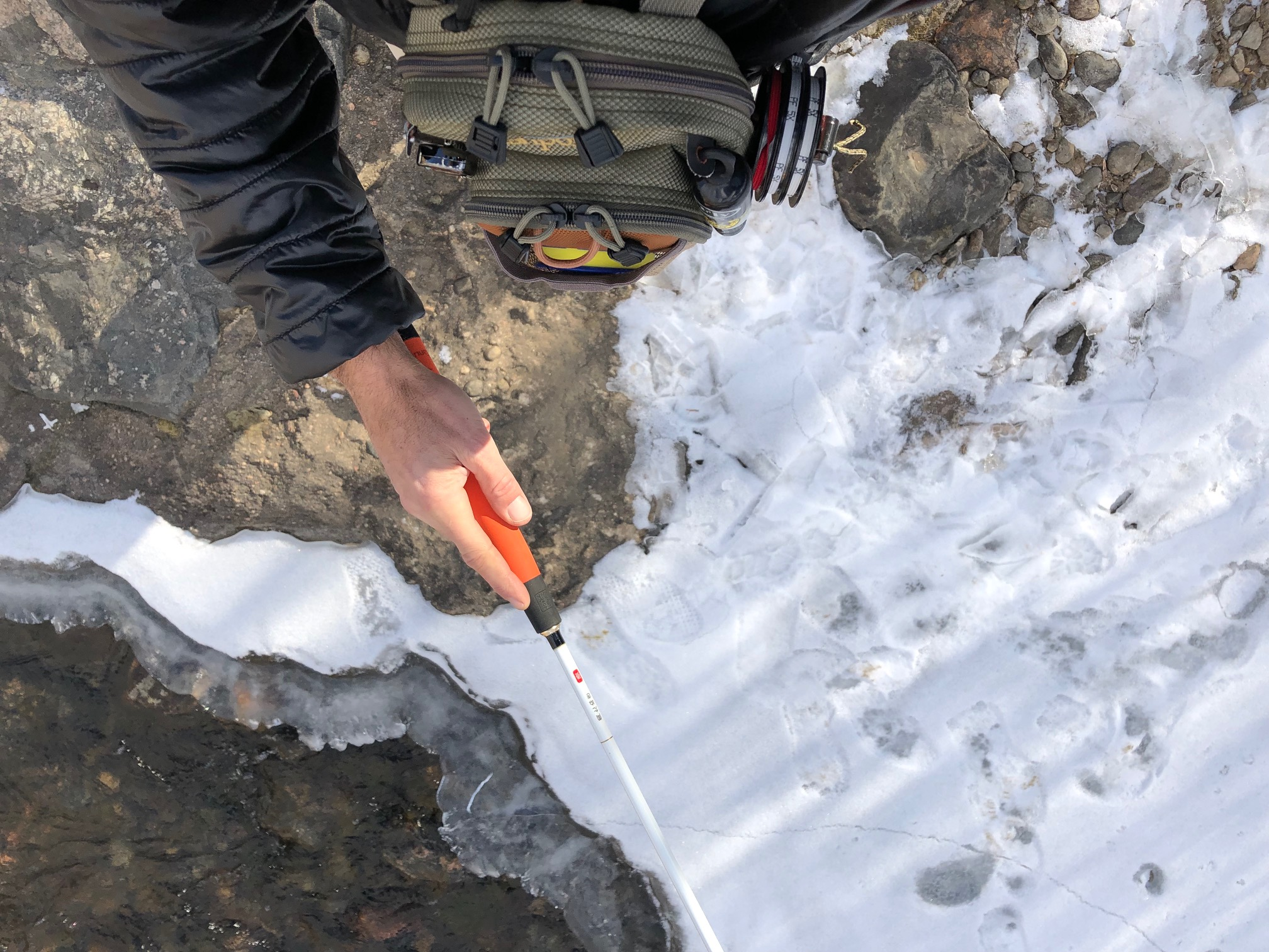 Tenkara Tanuki Snow 325 Rod
