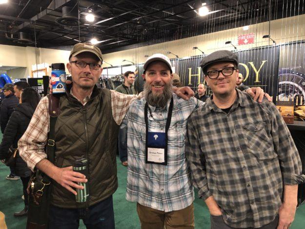 Jason Klass, Graham Moran, and Dennis Vander Houwen
