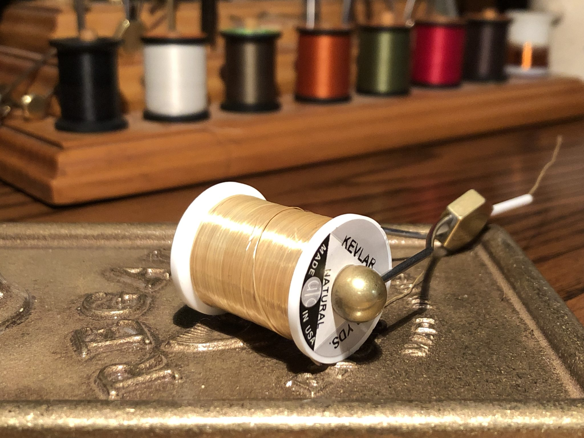 Tenkara Flies with Kevlar Thread