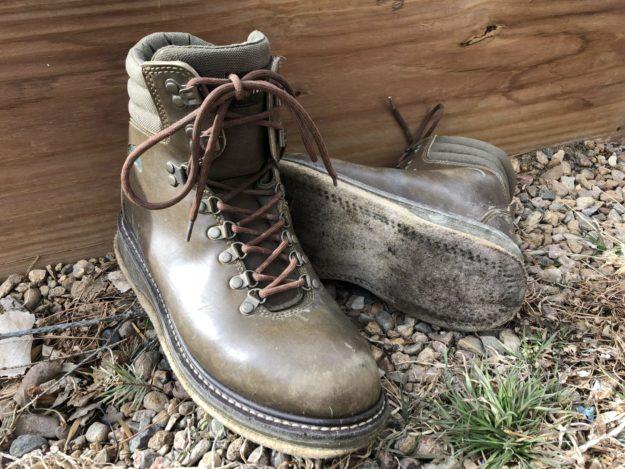 Felt vs. Rubber Wading Boots