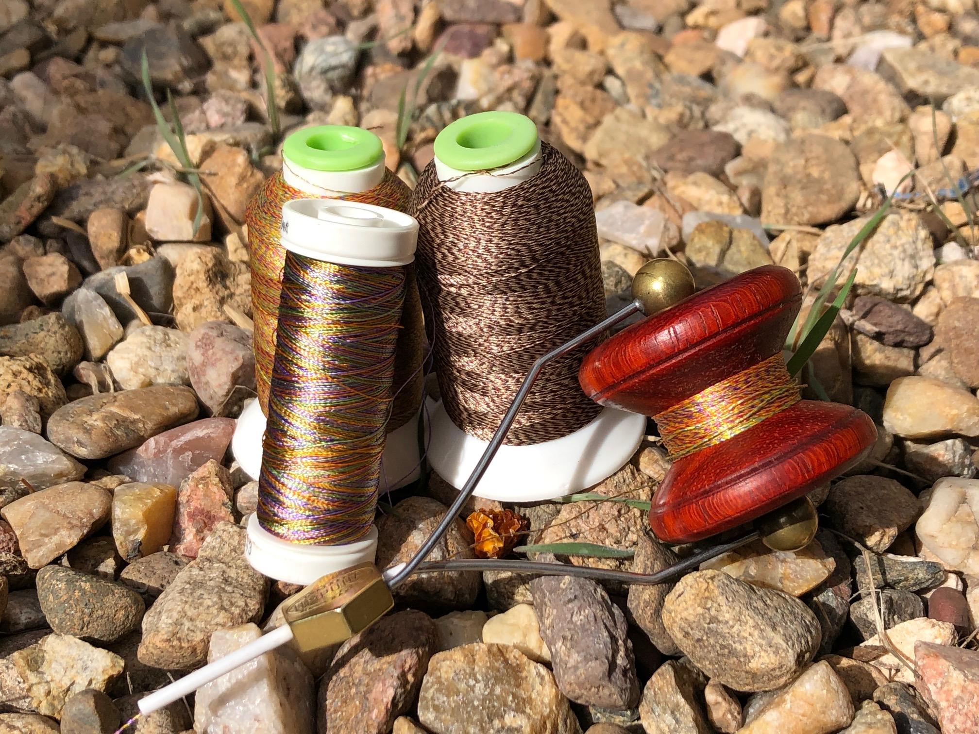 Wooden Fly Tying Bobbin Spool