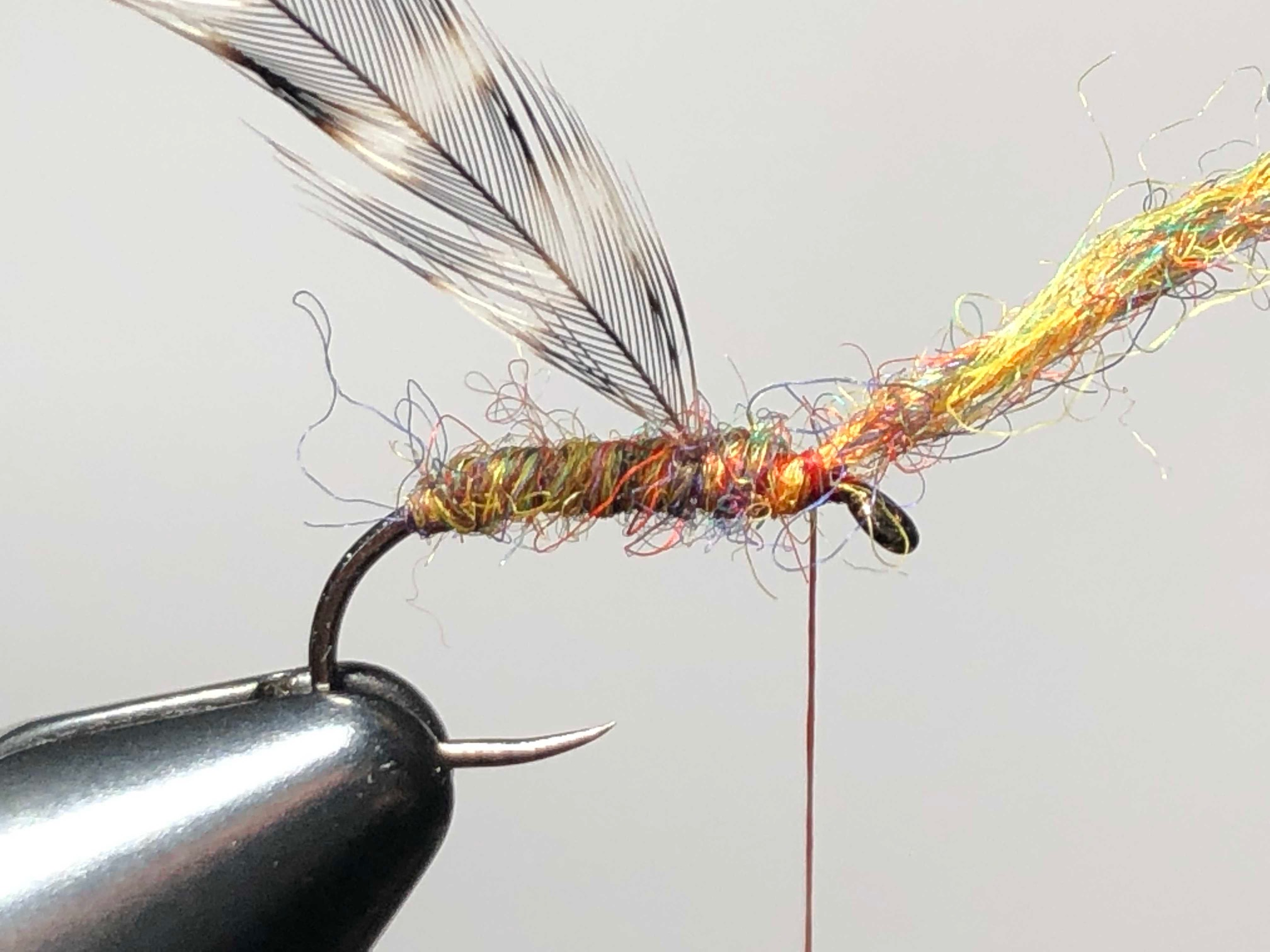 Shetland Spindrift Yarn Tenkara Flies