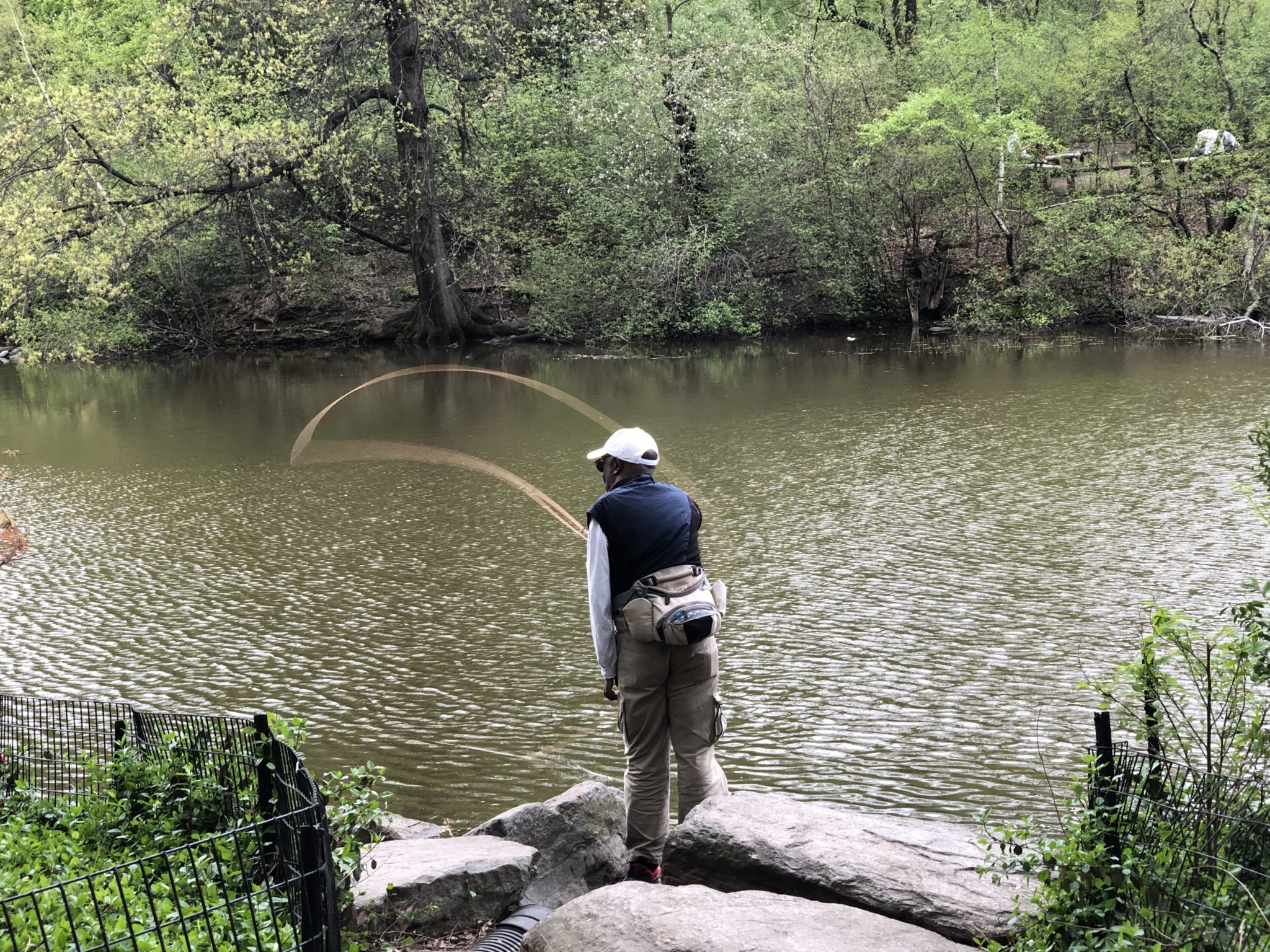 Tenkara Fly Fishing Central Park