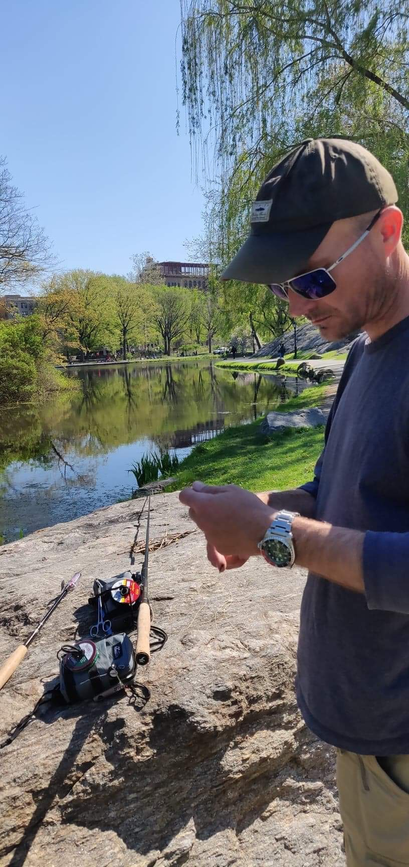 Tenkara Fishing in New York City