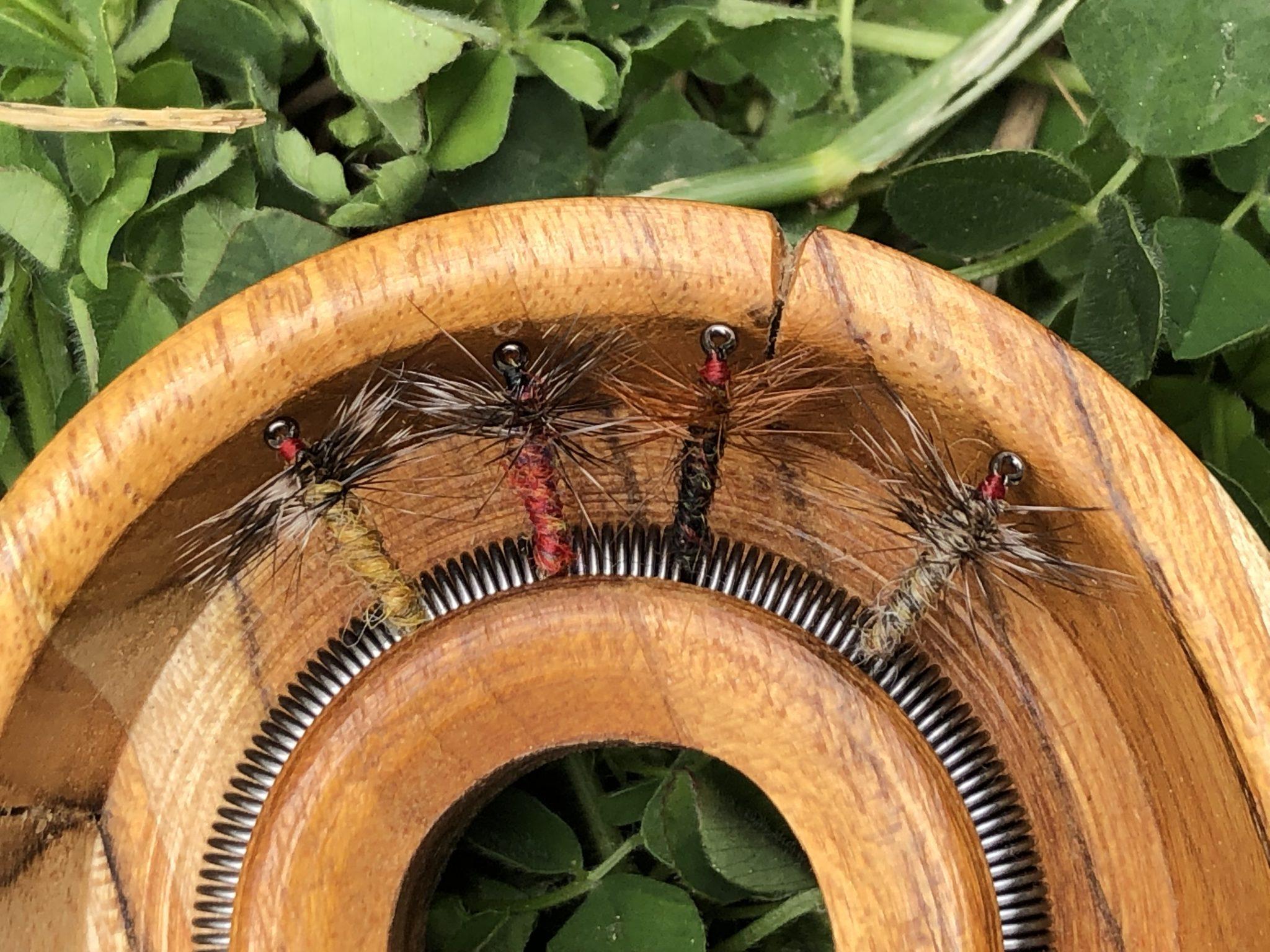 Tenkara Path Spring Fly Holder Spool
