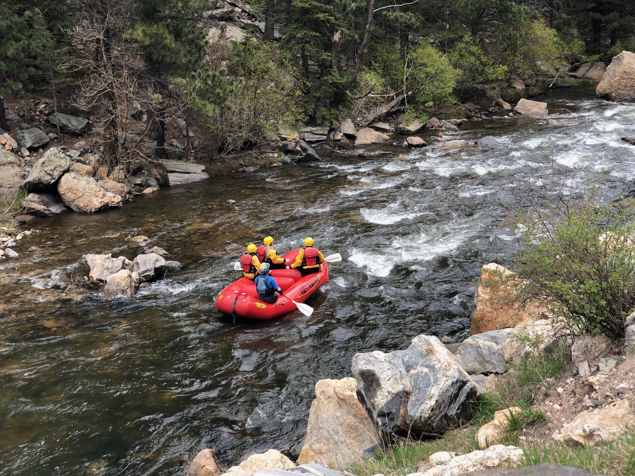 Rafting on Clear Creek