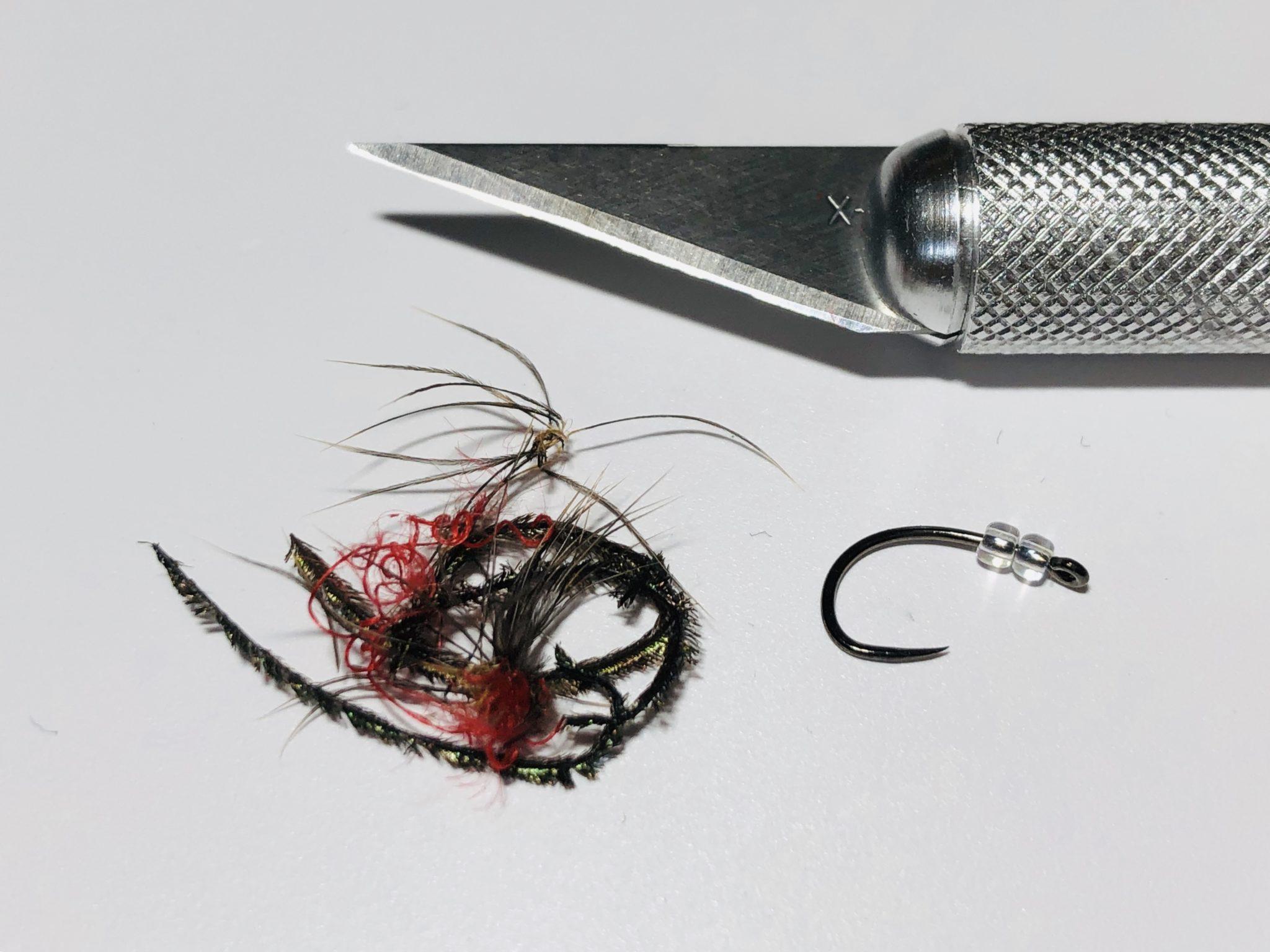Reusing fly hooks