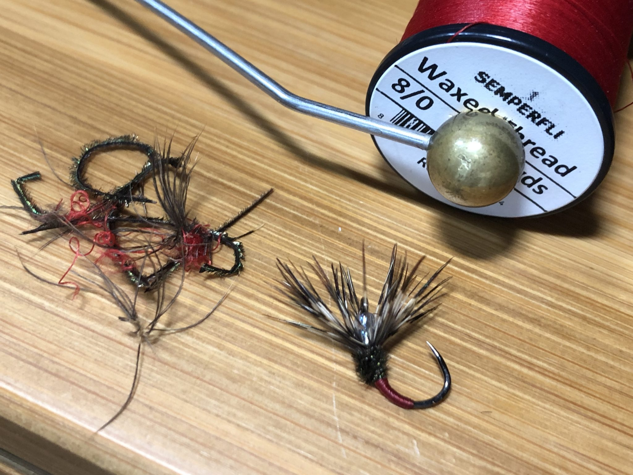 Reusing fly hooks