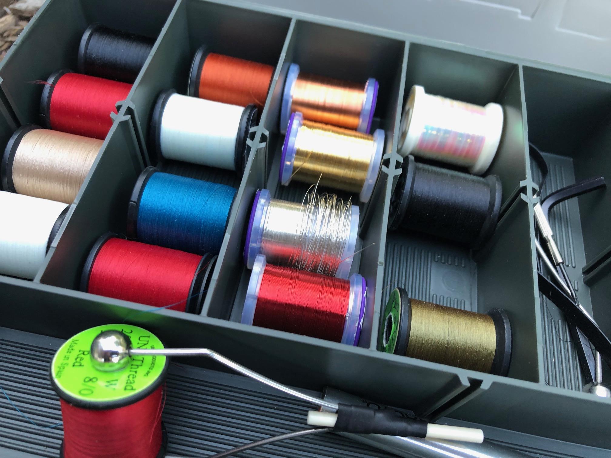 Travel Fly Tying Kit