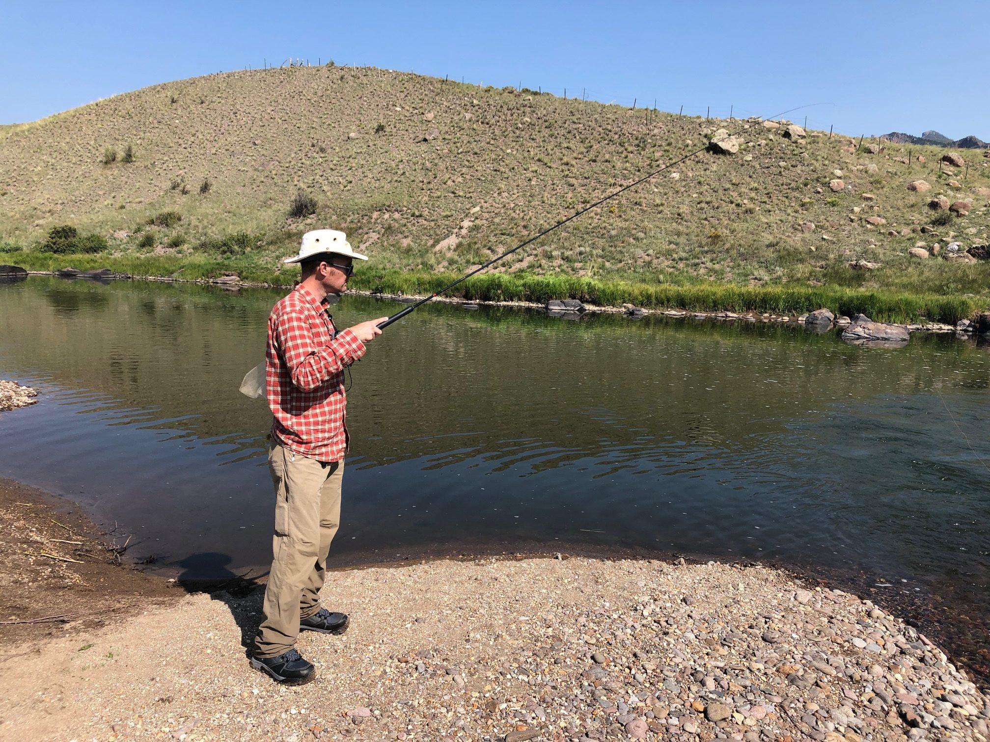 Tenkara on the Rio Grande